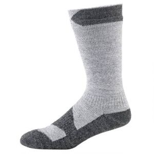 Sealskinz Walking Thin Mid Grey Marl/Dark Grey Marl