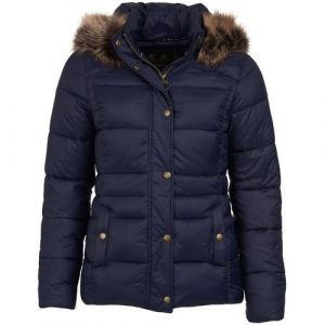 Barbour Ladies Ullswater Quilt  Jacket Navy/Red