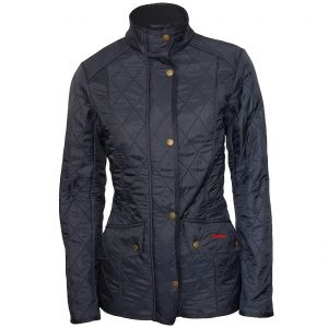 Barbour Ladies Cavalry Polarquilt Jacket Navy