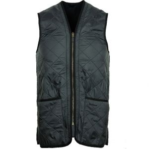 Barbour Men's Polarquilt Waistcoat/ Zip-in  Liner Navy