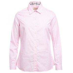 Barbour Prudhoe Shirt Pink/White