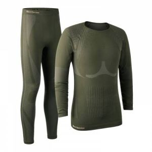 Deerhunter Men's Performance Underwear Set-Forest NIght