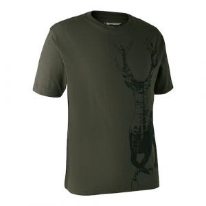 Deerhunter T-shirt with Deer - 8383