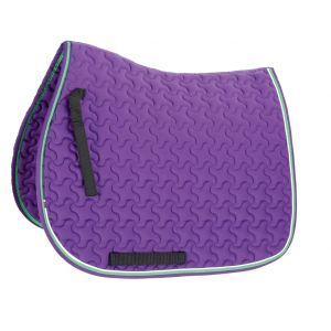 Shires Deluxe Dressage Saddle Cloth Pony/Cobh - Purple