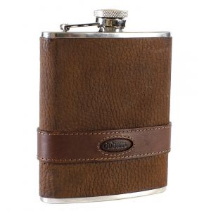 Dubarry Rugby (leather bound hip-flask)
