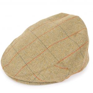 Christys' Balmoral Tweed Cap Z132