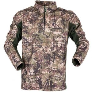 Ridgeline Norwegian Half Zip Fleece - Dirt Camo