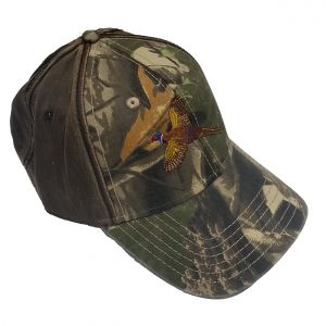 Camo Embroidered Baseball Cap (Pheasant)