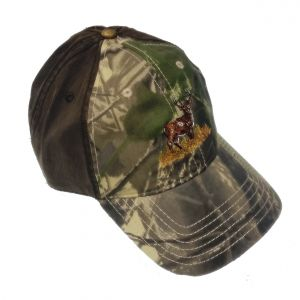 Camo Embroidered Baseball Cap (Stag)