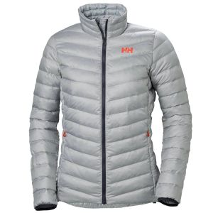 Helly Hansen Women's Verglas Down Insulator Jacket-Light Grey