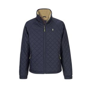 Jack Murphy Calvin Diamond Quilted Jacket - Navy