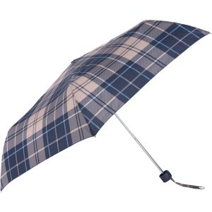 Barbour Portree Umbrella Tempest Blue Tartan