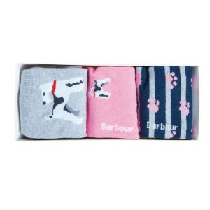 Barbour Terrier Paw Sock Gift Box