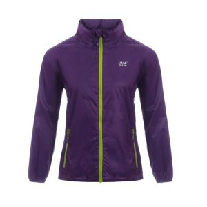 Mac In A Sac - Unisex Kids Waterproof Jacket -Purple