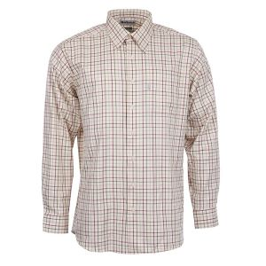 Barbour Maud Shirt - Red/Khaki