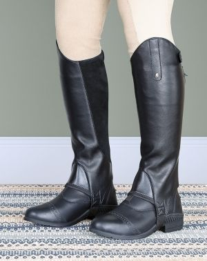 Shires Moretta Synthetic Leather Gaiters  - Children's