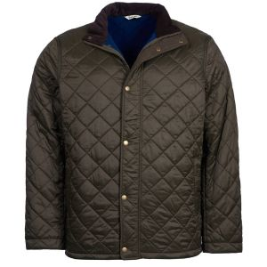 Barbour Men's Hawkshead Quilt Olive