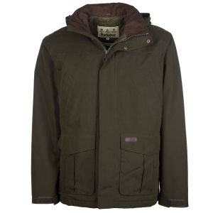 Barbour Brockstone Waterproof Jacket Olive