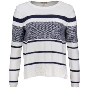 Barbour Ladies Paddle Knit Jumper Off White