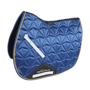 Shires Performance Luxe Saddlecloth - Navy
