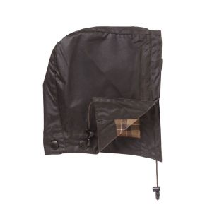 Barbour Waxed Cotton Hood- Rustic