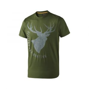 Seeland Fading Stag T-Shirt - Green