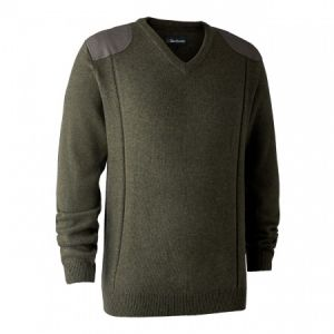 Deerhunter Sheffield Jumper - V-Neck Green