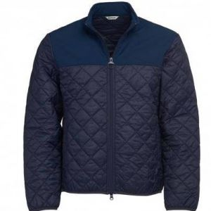 Barbour Mens Staindrop Quilt - Navy