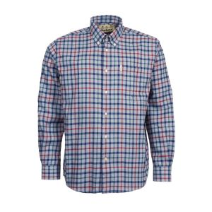 Barbour Men's Thermo Collar Shirt Grey Marl