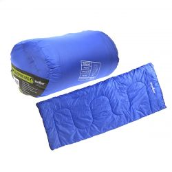 Summit Envelope Blue Therma Sleeping Bag 250gsm
